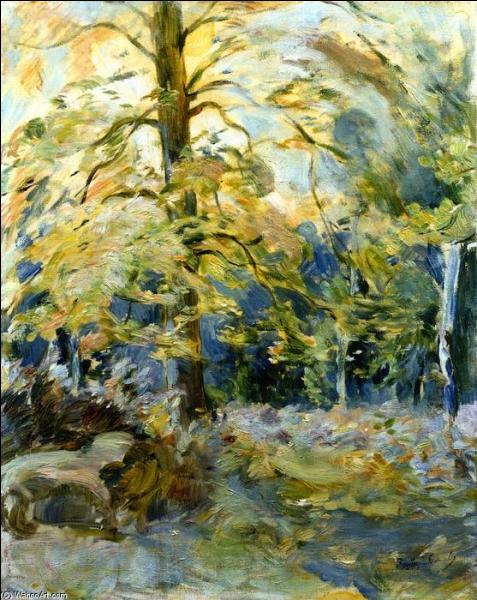 Qui a peint Forêt de Fontainebleau ?