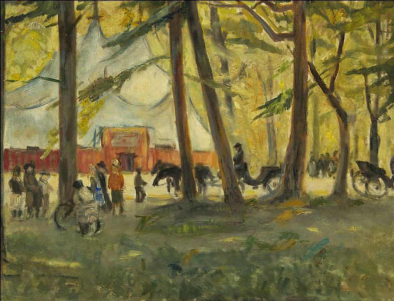 Qui a peint La forêt ?