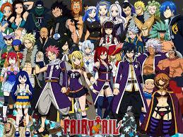 Les personnages de Fairy Tail