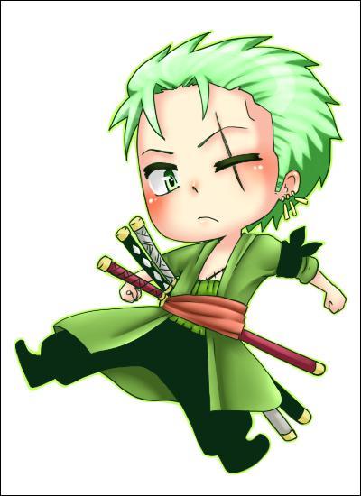 Qui est ce personnage aux cheveux verts ?