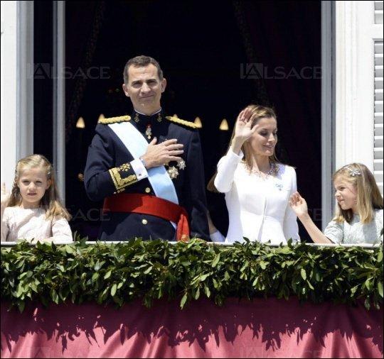 Depuis juin 2014 c'est Felipe VIII (Philippe VIII) qui règne sur le pays.