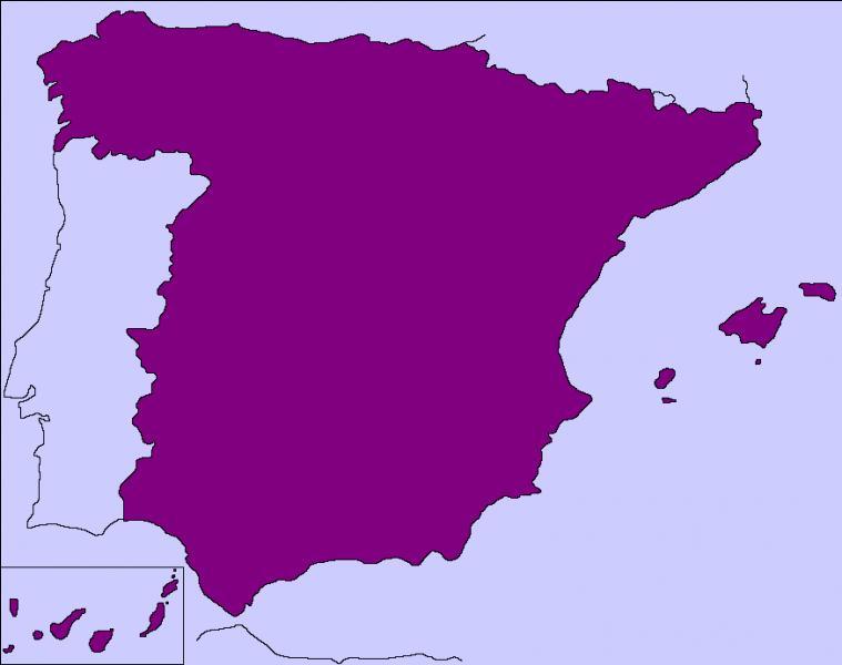 L'Espagne a des frontières terrestres avec cinq pays.