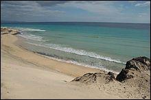Fuerteventura est une île de l'archipel des Baléares.