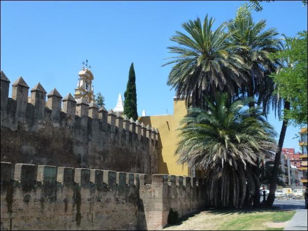 La ville de Séville est traversée par le Guadalquivir.