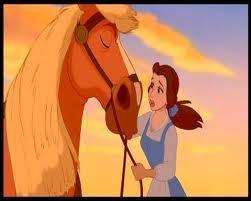 Comment s'appelle le cheval de cette autre princesse ?