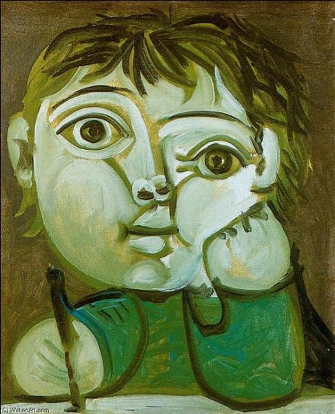 """Résultat de recherche d'images pour """"enfants peints par picasso"""""""