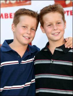 Comment se nomment ces deux enfants ?