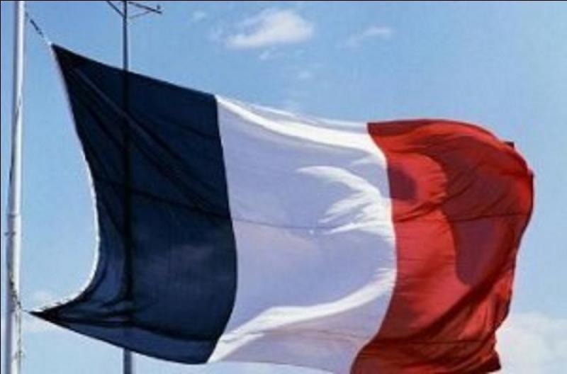 Toujours mécontentes, ces personnes continuèrent à « râler » contre ce drapeau qu'ils trouvent « trop blanc ». La convention décide de la création du drapeau national actuel. Quand est-ce qu'il est officiellement utilisé pour une cérémonie d'importance pour la 1e fois ?