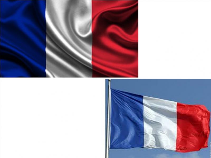 Sous la présidence de la république de Valéry Giscard d'Estaing, une modification est apparue. Que fut-il modifié sur le drapeau français ?