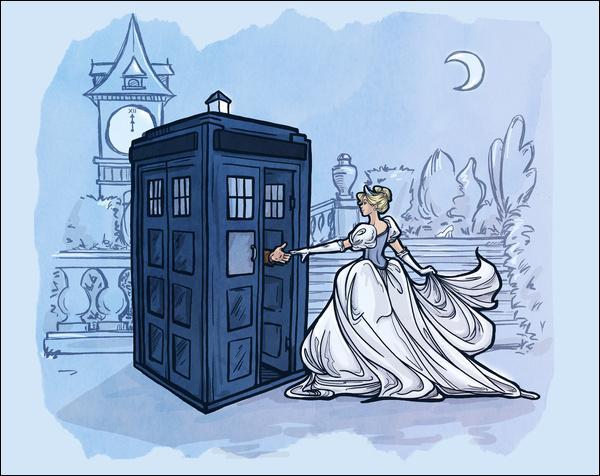 Le Docteur a demandé à Cendrillon de venir avec lui, pourquoi ?