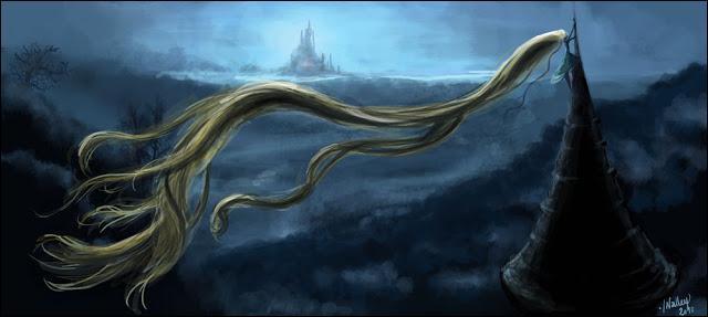 Dans le conte original de Rapunzel (Raiponce pour ceux et celles qui ne connaissent pas) que doit dire la sorcière pour pouvoir entrer dans la tour ?