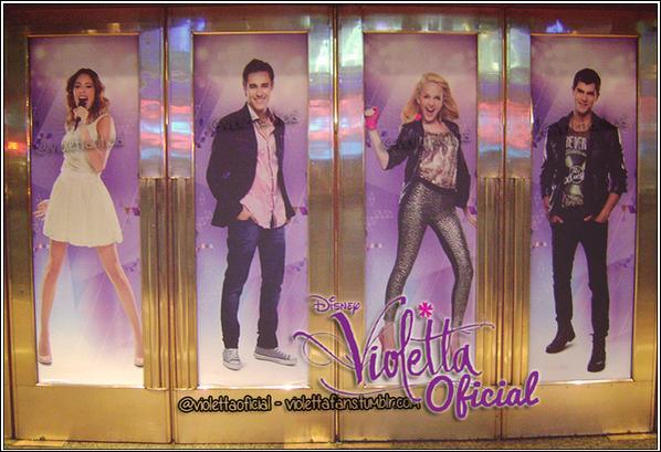 Quand la saison 3 de Violetta commencera-t-elle ?