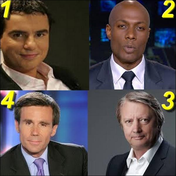 Ils sont tous animateurs sur France 2 sauf un, lequel ?