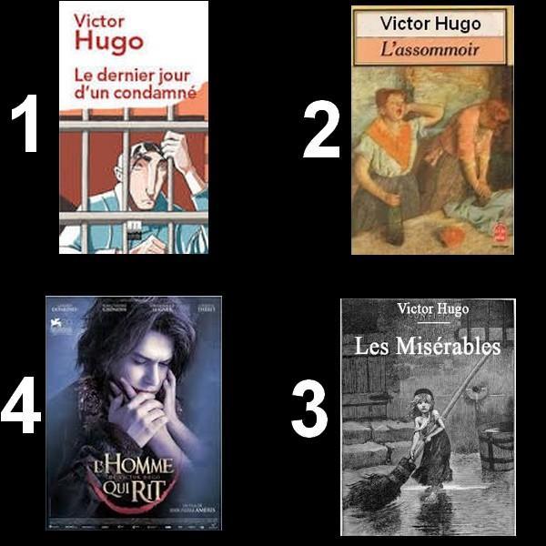 Tous ces livres sont de Victor Hugo sauf un, lequel ?