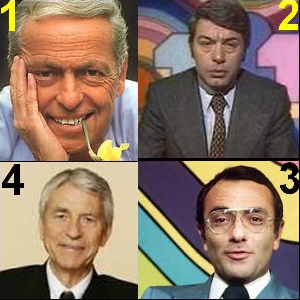 Ils étaient présentateurs du journal télé sauf un, lequel ?