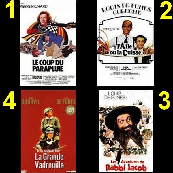 Tous ces films sont du réalisateur Gérard Oury sauf un, lequel ?