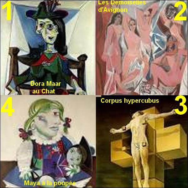 Tous ces tableaux sont de Pablo Picasso sauf un, lequel ?