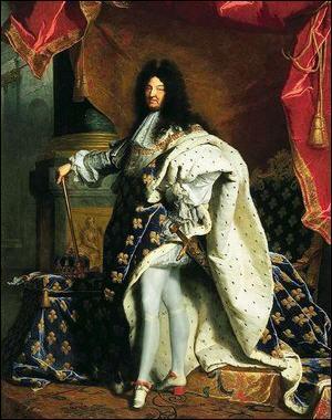 1er septembre 1715 : décès du grand monarque absolu le 'Roi-Soleil' !