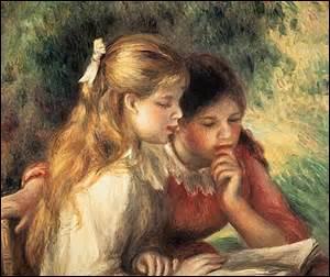 Qui est un peintre de la joie, un assembleur de bouquets, un poète du duvet et du « veloutement » de la vie extérieure selon Mauclair ?