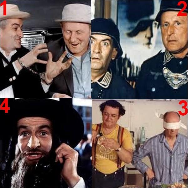Lequel de ces films n'a pas été réalisé par Gérard Oury ?