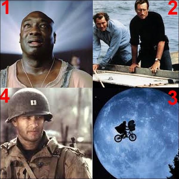 Lequel de ces films n'a pas été réalisé par Steven Spielberg ?