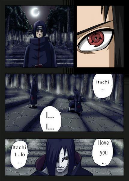 À qui Orochimaru déclare-t-il son amour ?