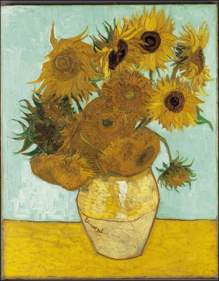 Comment se nomme cette célèbre toile de Vincent van Gogh ?