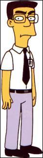 Comment Homer appelle-t-il ce personnage ?