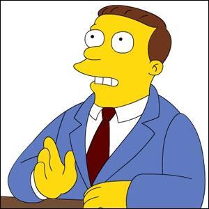 Qui est-il pour les Simpson ?