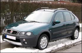 Voici la Rover 25 des champs. Dans cette tenue champêtre, quel nom porte-t-elle ?
