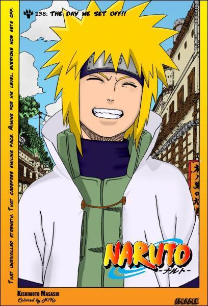 Et lui c'est le papa à Naruto ! Il a l'air de vraiment...