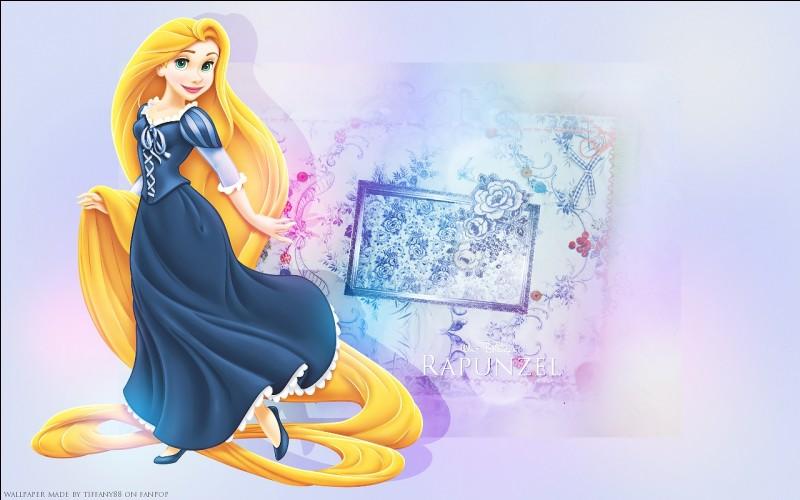"""Et enfin, dans le film """"Raiponce"""" la princesse fête ses..."""