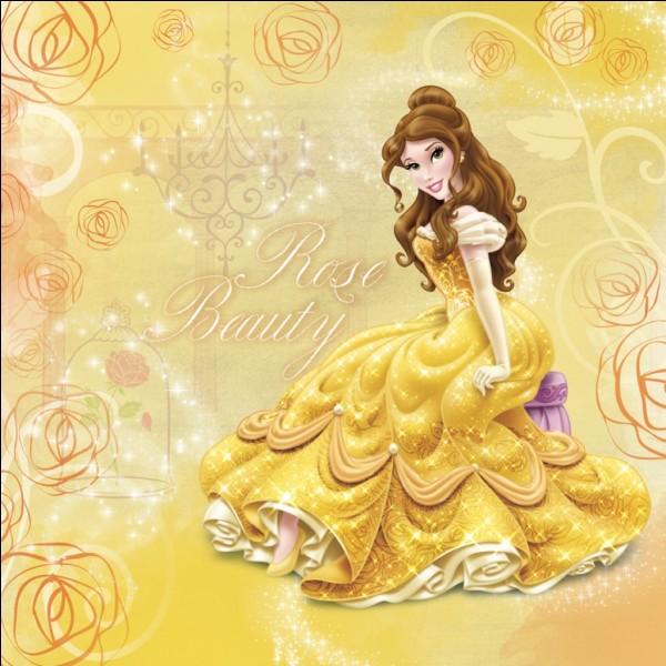 D'après mes souvenirs d'enfance l'âge de Belle est entre 17 ans et 21 ans.