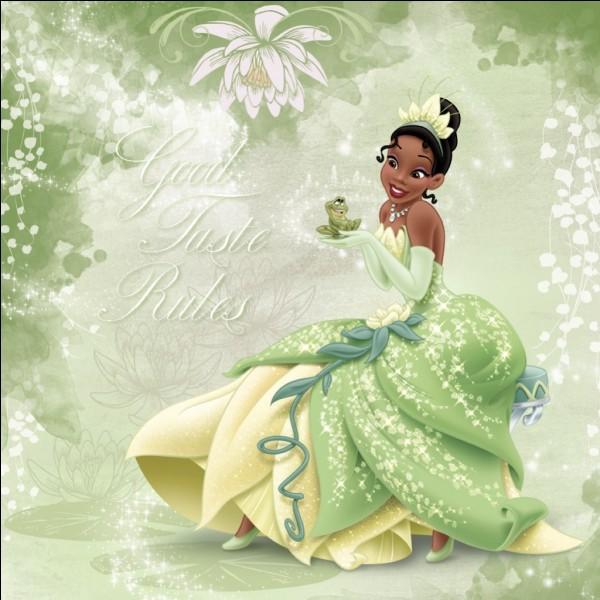 Quel âge Tiana a-t-elle lorsqu'elle devient une princesse ?