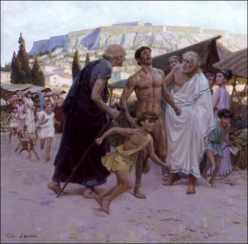 En 490 av J.C à la bataille de Marathon : quel est le nom du soldat-messager envoyer à Athènes, pour informer de la victoire sur l'armée Perse, il meurt d'épuisement en arrivant sur l'Agora ?