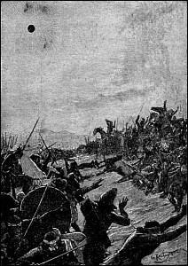En 585 av J.C : sous quelle bataille voyant un signe du ciel, les rois de Médie et de Lydie décident de conclurent la paix ?
