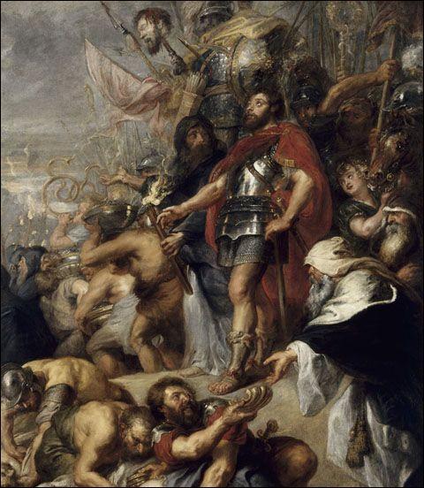 Quelle est cette bataille en 165 av J.-C ? Elle représente le grand tournant dans la révoltes des Macchabées en Judée, ils remportent une victoire stratégique et mettent en déroute une armée Séleucide bien plus importante.
