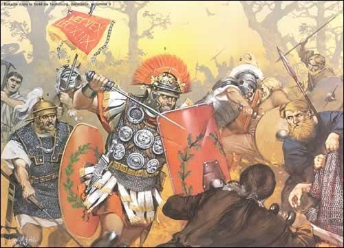 Près de quelle ville en 102 av J.C, le consul romain Marius écrase les barbares Teutons et les Ambrons ?