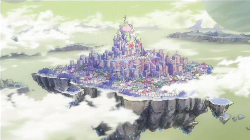 Comment se nommait la ville où résidaient les Exceeds avant la fin de l'Arc Edolas ?