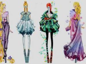 Princesses Disney en version haute couture !