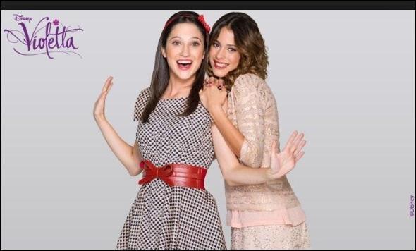 Quelle est la meilleure amie de Violetta ?