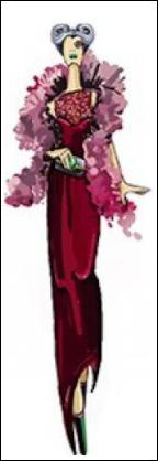 C'est la belle-mère d'une princesse. Elle et ses filles la martyrisent en lui faisant faire toutes les corvées ménagères.