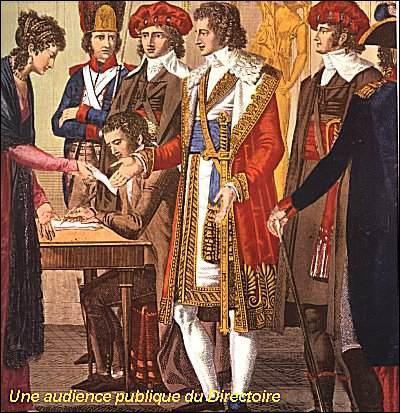 Le 3 novembre 1795 sont désignés les cinq directeurs : Barras, La Révellière-Lépeaux, Reubell, Letourneur et Sieyès. Lequel refusera ?