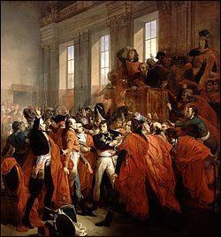 Qui ne participa pas à la préparation au coup d'Etat du 18 brumaire an VIII (9 novembre 1799) fait par Napoléon Bonaparte ?