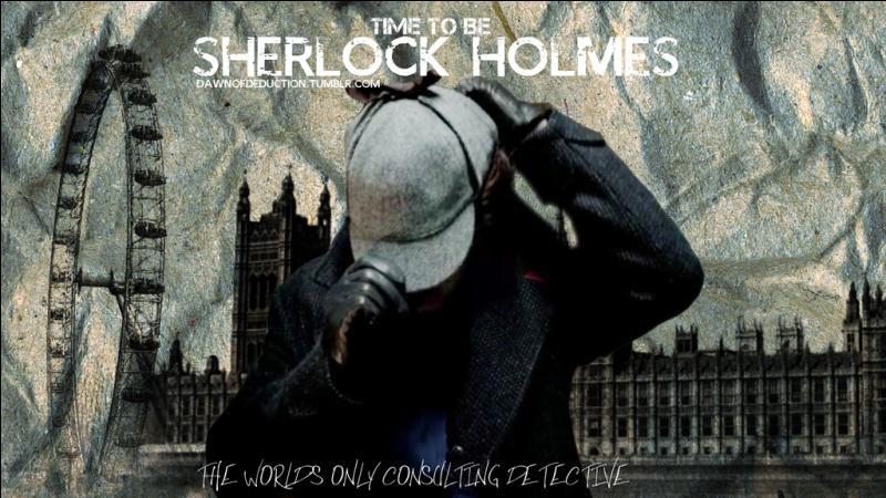 Où se situe l'appartement où logent Holmes et Watson ?