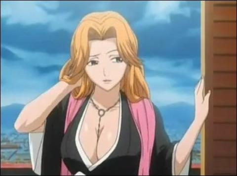Comment s'appelle cette Shinigami du manga 'Bleach', étant apparue dans l'épisode 24 se fichant de son apparence ? Elle a été sauvée de la famine par Gin Ichimaru lorsqu'elle était enfant.