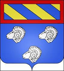 Voici le blason de la commune Bourguignonne d'Étais. Elle se situe dans le département ...