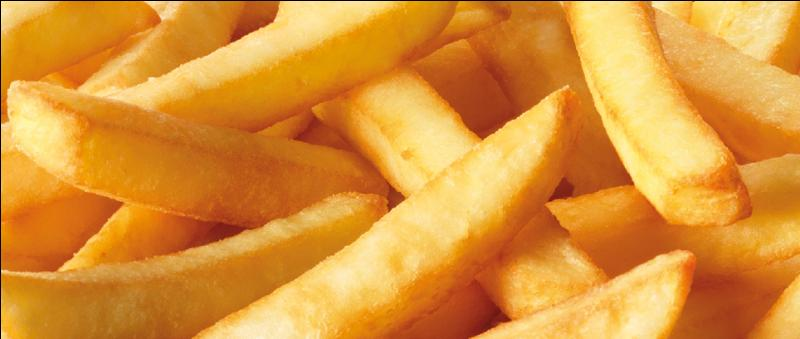 "Comment dit-on ""frite"" ?"