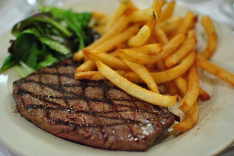 Que dire du steak frites ?