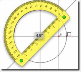 Combien mesure un angle plat ?